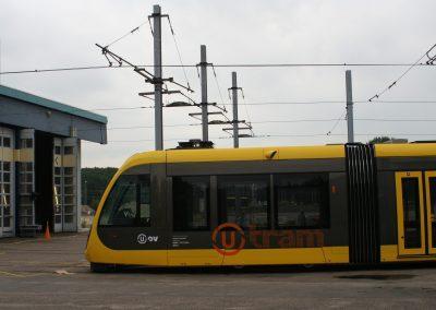 Bouw nieuwe tramremise Provincie Utrecht