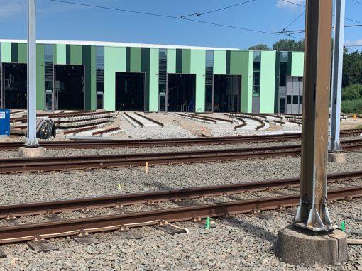 Railinfrastructuur Nieuwe Tram Remise